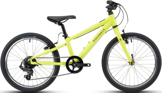 Ridgeback Dimension 20 Lime Kids Bike